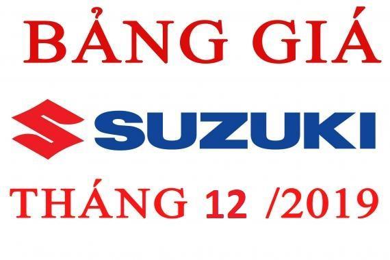Bảng Giá Xe Suzuki Mới Nhất Tháng 12/2019