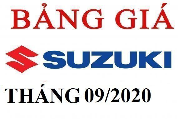 BẢNG GIÁ XE SUZUKI MỚI NHẤT THÁNG 9/2020